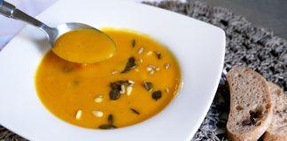 Einfache-Kürbissuppe