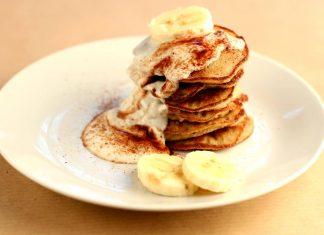 Bananen-Mandel-Pfannkuchen