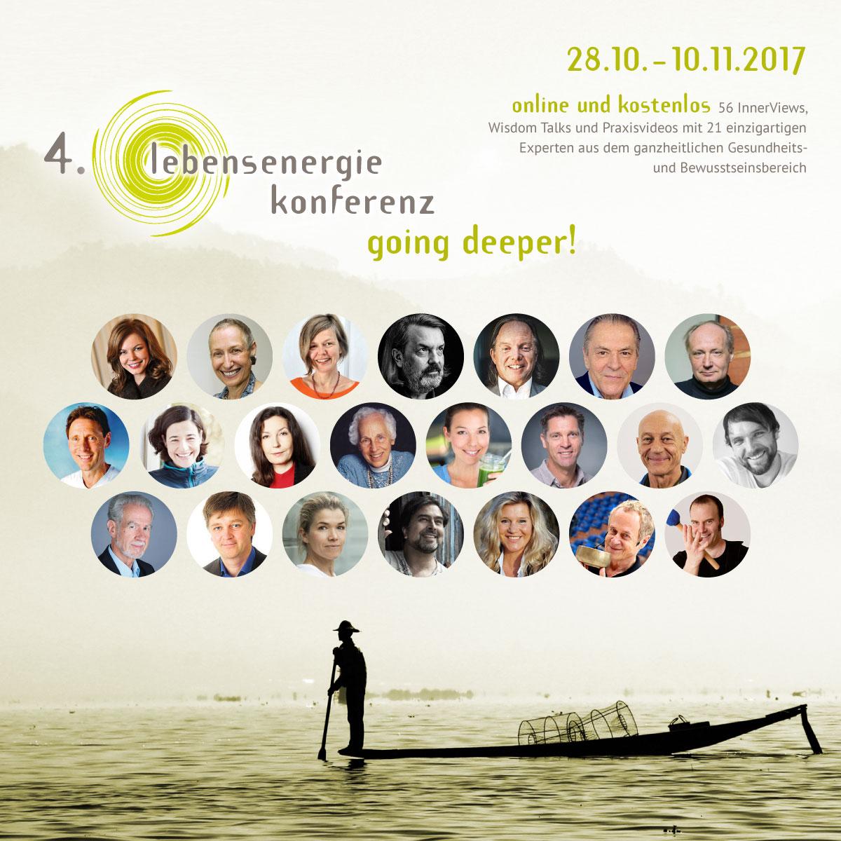 Lebensenergie-Konferenz 28.10. bis 10.11.2017